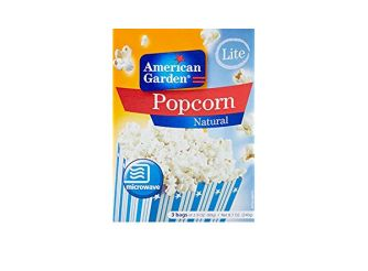 American Garden Natural Light Microwave Popcorn