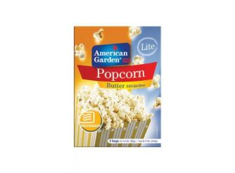 American Garden Microwave Popcorn with Butter (94% Fat Free)