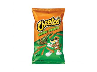 Cheetos Crunchy Cheddar Jalapeno Cheese Flavored Snack