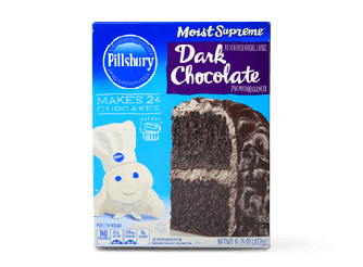 Pillsbury Dark Chocolate Cake Mix