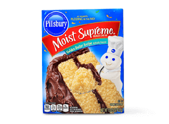 Pillsbury Golden Butter Cake Mix