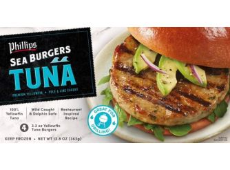 Phillips Tuna Burger