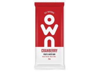 OWN Cranberry & Nuts Bar