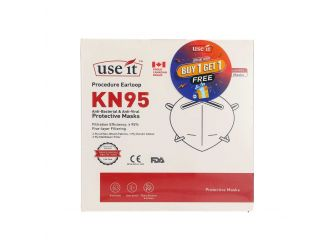 Use It Face Mask KN95 5s 1+1
