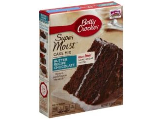 Betty Crocker Super Moist Favorites Butter Recipe Chocolate Cake Mix