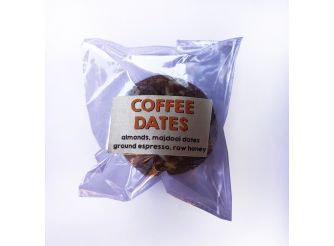 Baked Coffee Dates Energy Ball