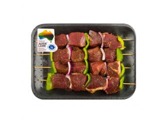 Fresh Greek Aussie Lamb Kebab