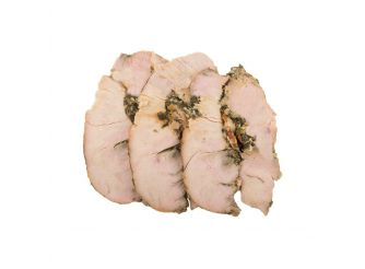 Gourmet Cooked Stuffed Turkey Breast Slices