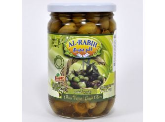 Al Rabih Green Olives