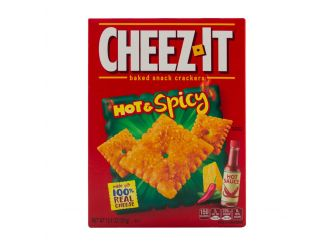 Cheez-It Hot & Spicy Snack Crackers
