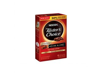 Nescafe Taster's Choice 6 Piece House Blend Coffee