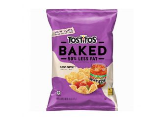 Tostitos Scoops 50% Less Fat Baked Tortilla Chips