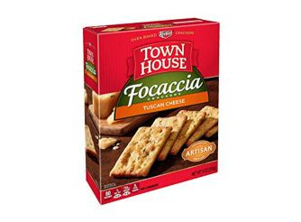Townhouse Focaccia Crackers Tuscan Cheese