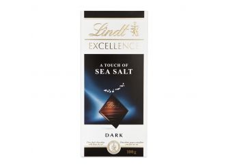 Lindt Excellence Dark Chocolate with Sea Salt