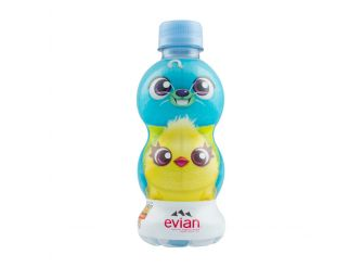 Evian Disney Toy Story Water Bottle
