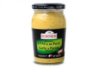 Bornier Garlic & Parsley Mustard
