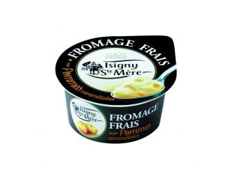 Isigny Ste-Mère Fromage Frais (Light Cream Cheese) with Caramelized Apples