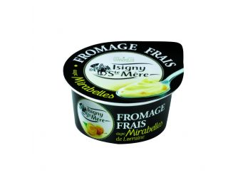 Isigny Ste-Mère Fromage Frais (Light Cream Cheese) with Plum