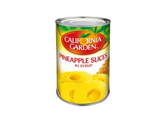 California Garden Pineapple Slices in Syrup