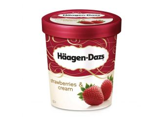 Haagen-Dazs Strawberries & Cream