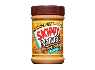 Skippy Natural Creamy Peanut Butter with Honey