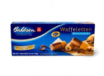 Bahlsen Waffeletten Milk Chocolate