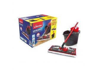 Vileda Ultramax Microfibre Set of Mop, Bucket & Wringer