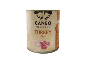 CANEO Wet Dog Food with Turkey Can