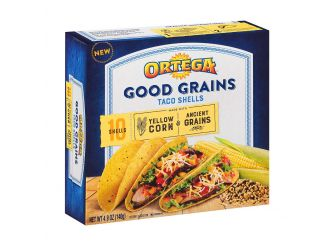 Ortega Good Grain Yellow Taco Shell
