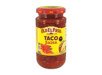 Old El Paso Hot Thick & Chunky Salsa
