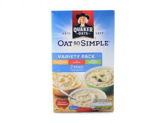 Quaker Oats So Simple Variety Pack