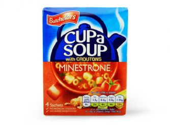 Batchelors Cup a Soup Minestrone with Croutons