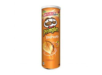 Pringles Hot Paprika Chips