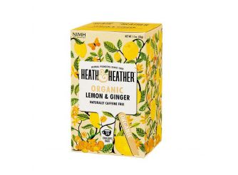 H & H Organic Lemon & Ginger Tea