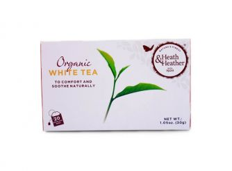 Heath & Heather Organic White Tea