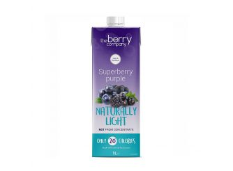 The Berry Company Blueberry Naturally Light
