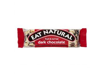 Eat Natural Dark Chocolate with Cranberries & Macadamia Bar