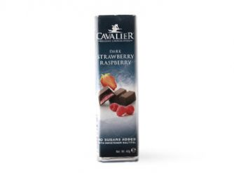Cavalier Dark Chocolate with Strawberry & Raspberry