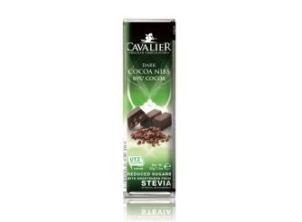 Cavalier Dark Chocolate with Cocoa Nibs (85% Cocoa)