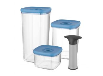 BergHOFF 4-pc Set Vacuum Food Containers