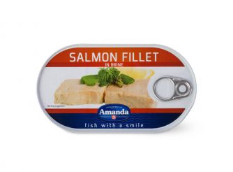 Amanda Salmon Fillet in Brine