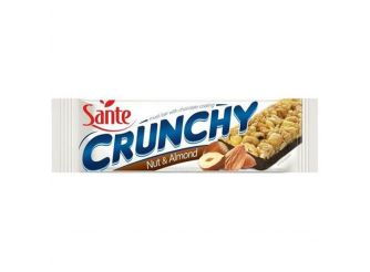 Sante Crunchy Nut & Almond Bar with Chocolate Coating