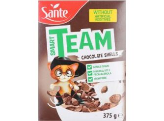 Sante 'Smart Team' Chocolate Shells Cereal