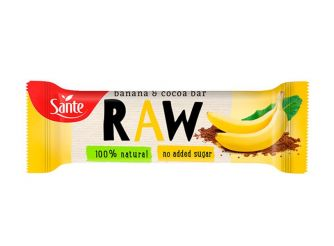 Sante RAW Banana & Cocoa Bar