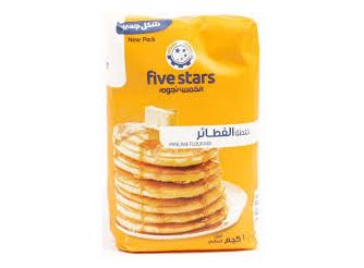 Five Stars Pancake Mix Flour