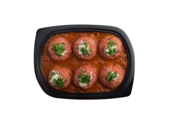 Chilled Young Angus Beef Italian Meatballs in Tomato Sauce