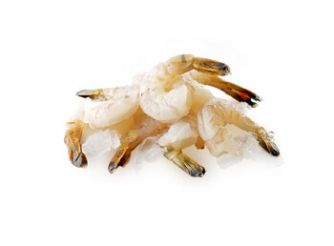 Poseidon Black Tiger Large Shrimp Peeled & Deveined Tail on