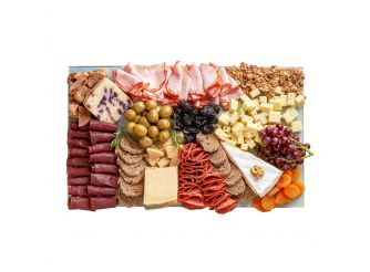 Rectangle Cheese & Cold Cuts Platter - Large