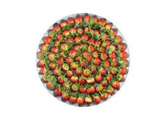 Gourmet Belgian Chocolate Dipped Strawberry Platter - Medium