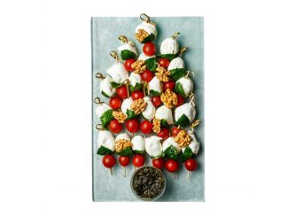 Gourmet Christmas Mini Buffalo Mozzarella, Cherry Tomatoes & Fresh Basil Small Platter
